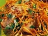 Chicken And Shredded Potato Salad Recipe