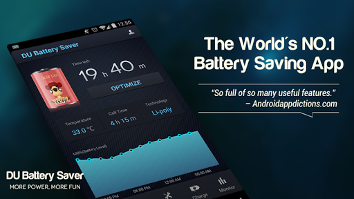 DU Battery Saver PRO & Widgets screenshot 6
