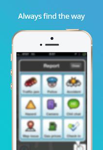Guide for Waze Maps, GPS, Navigation & Traffic - náhled