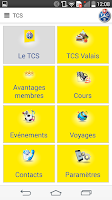 Screenshot of TCS Valais