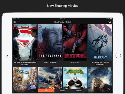 Cinema Showtimes UAE screenshot