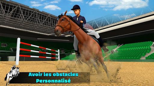 Télécharger Gratuit Simulateur de saut de cheval 2020 mod apk screenshots 3
