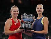 Dubbelspel Australian open is voor Hongarije en Frankrijk