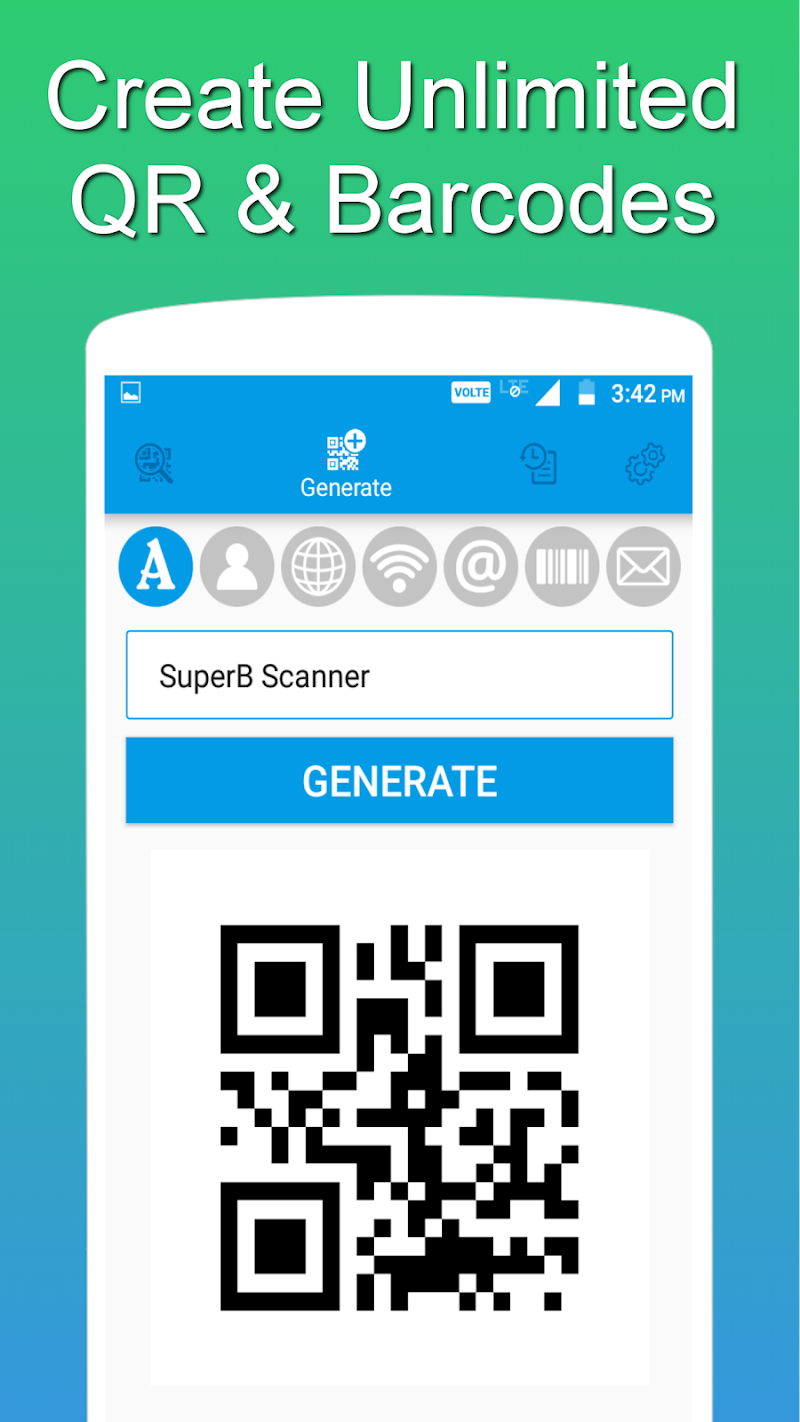 QR and Barcode Scanner PRO Screenshot 0