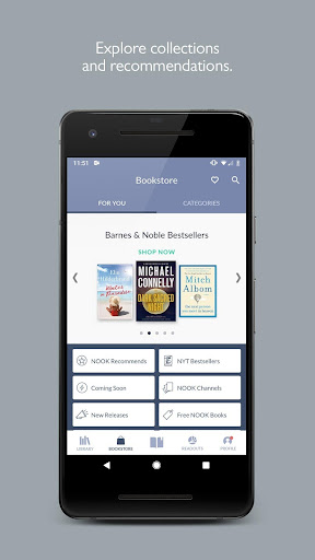 NOOK: Read eBooks & Magazines 5.0.5.35 screenshots 1