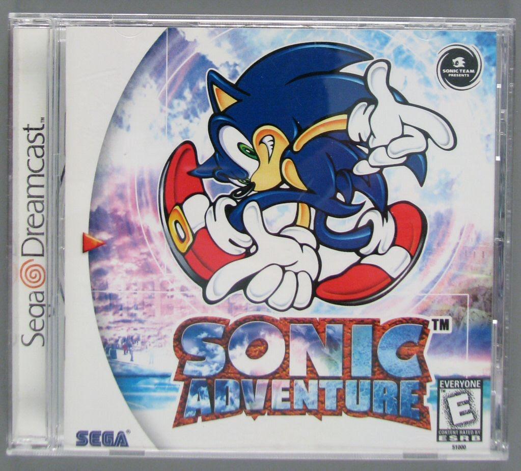 Video Game Sega Dreamcast Sonic Adventure Video Game Google Arts Culture