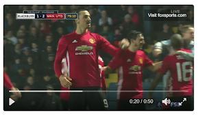 FA Cup: Zlatan Ibrahimovic scores Man United's winning goal | ProSoccerTalk