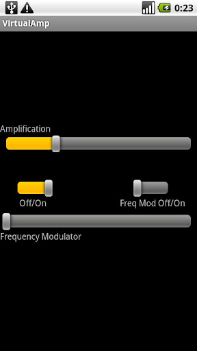 Virtual Amp screenshot 1