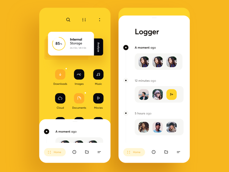 Mobile App ui kit app