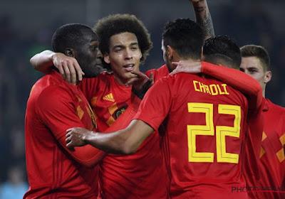 """Romelu Lukaku a un de ses """"meilleurs amis"""" en équipe nationale et il pense déjà à l'Euro"""