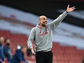 """Pep Guardiola reste concentré : """"On ne pense qu'à Manchester United"""""""