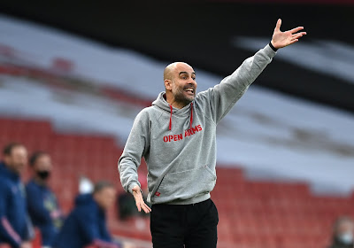 "Pep Guardiola reste concentré : ""On ne pense qu'à Manchester United"""