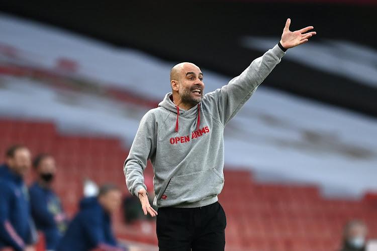 """Guardiola komt terug op belangrijke beslissing die verlies misschien wel inleidde tegen United: """"Dat was misschien wel fout van me"""""""