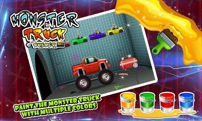Monster Truck Builder & Maker - screenshot