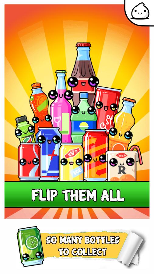 Bottle Flip Evolution - 2k18 Idle Clicker Game- screenshot