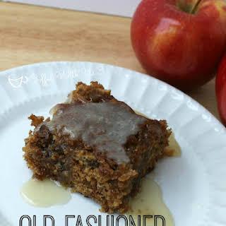Old Fashioned Apple Dessert Cake.