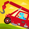 Dinosaur Rescue - Truck Games for kids & Toddlers icon
