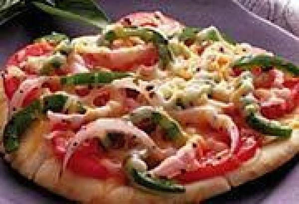 Halftime Pita Pizzas Recipe