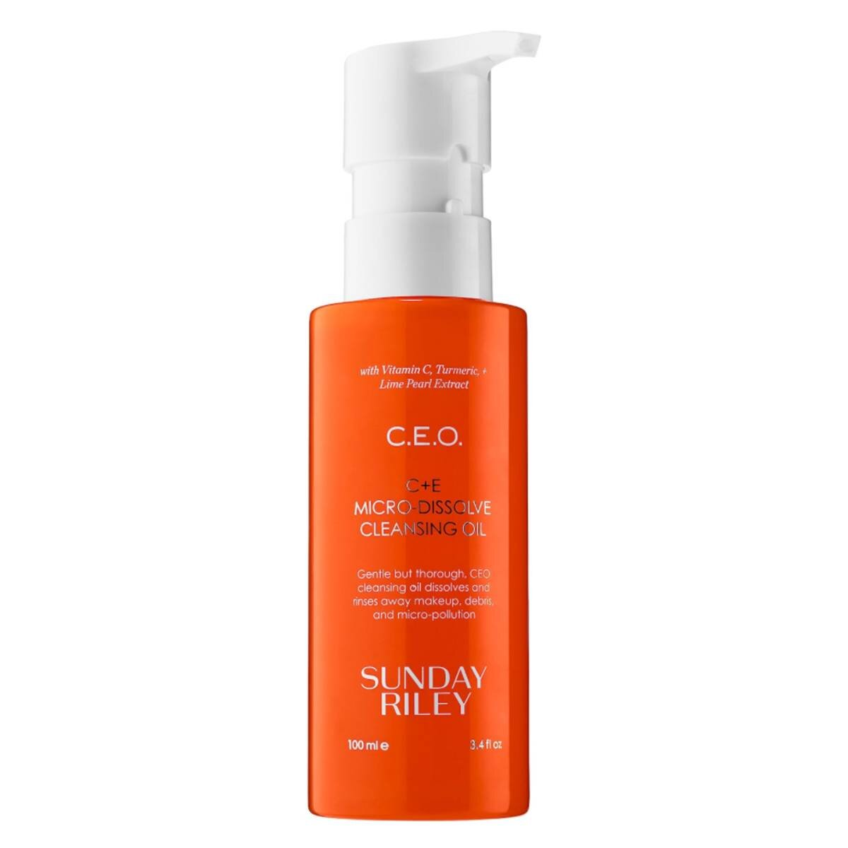 Sunday Riley  C.E.O. Vitamin C + E Cleansing Oil ($38)
