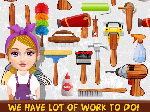 Messy House Cleanup Girls Home Cleaning Activities android2mod screenshots 10