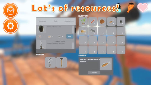 Raft Survival Simulator 1.0.05 screenshots 8