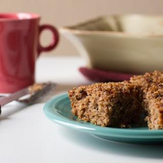 Breakfast Friday >> Cinnamon Quinoa Coffee Cake
