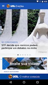 UOL Eleições 2016 – Apuração screenshot 1