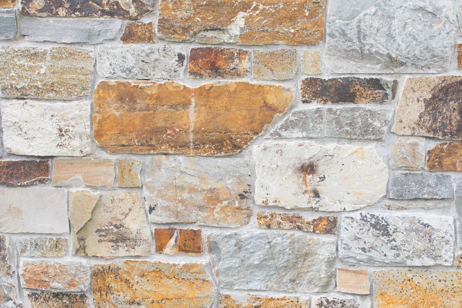 stone veneer retaining wall