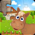 Kids Farm Jigsaw Puzzles  icon