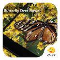 Butterfly Over Flower Keypad icon