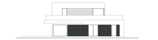 Szykowny D43 - Elewacja tylna