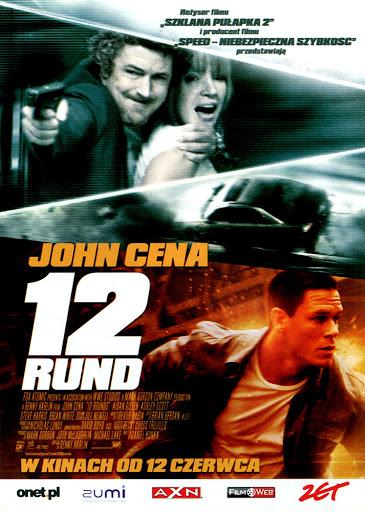 Przód ulotki filmu '12 Rund'