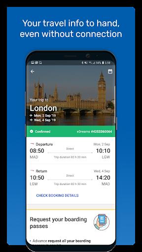 eDreams: Book cheap flights and travel deals 4.177.1 screenshots 6