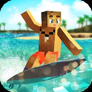 Surfing Craft: Crafting, Stunts & Surf Games World