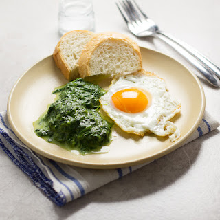 Quick Sauteed Spinach.