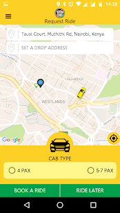 Taxi ChapChap Customer- screenshot thumbnail