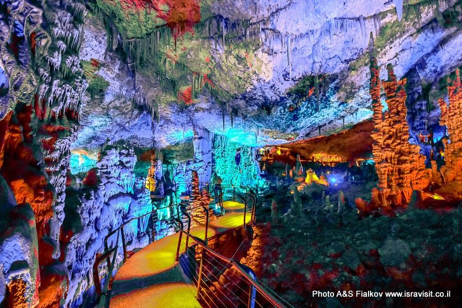 Пещера Авшалом или Сорек, Израиль. Экскурсия гида в Израиле Светланы Фиалковой.