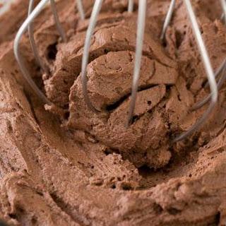 Chocolate Ganache Frosting.