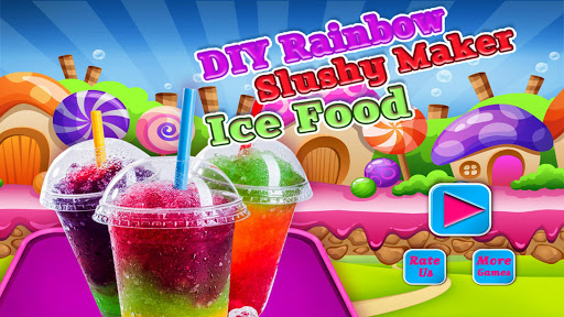 DIY Rainbow Slush Maker - Ice Food  screenshots 1