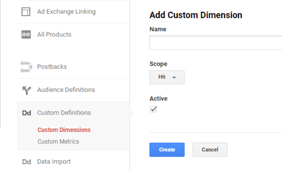 Google analytics tips add custom dimension