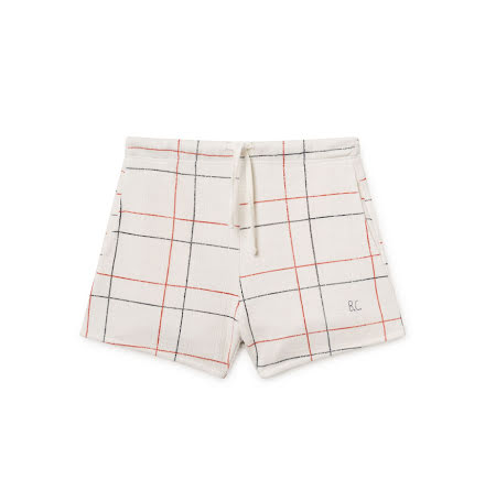 BoBo Choses White Line Shorts