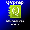QVprep Matemáticas Grado 1 icon