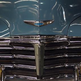 Chev by Gavin Falck - Transportation Automobiles ( lights, car, automobile, vintage car, gavin falck, badge, chev )