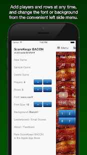 Score Keeper BACON- screenshot thumbnail