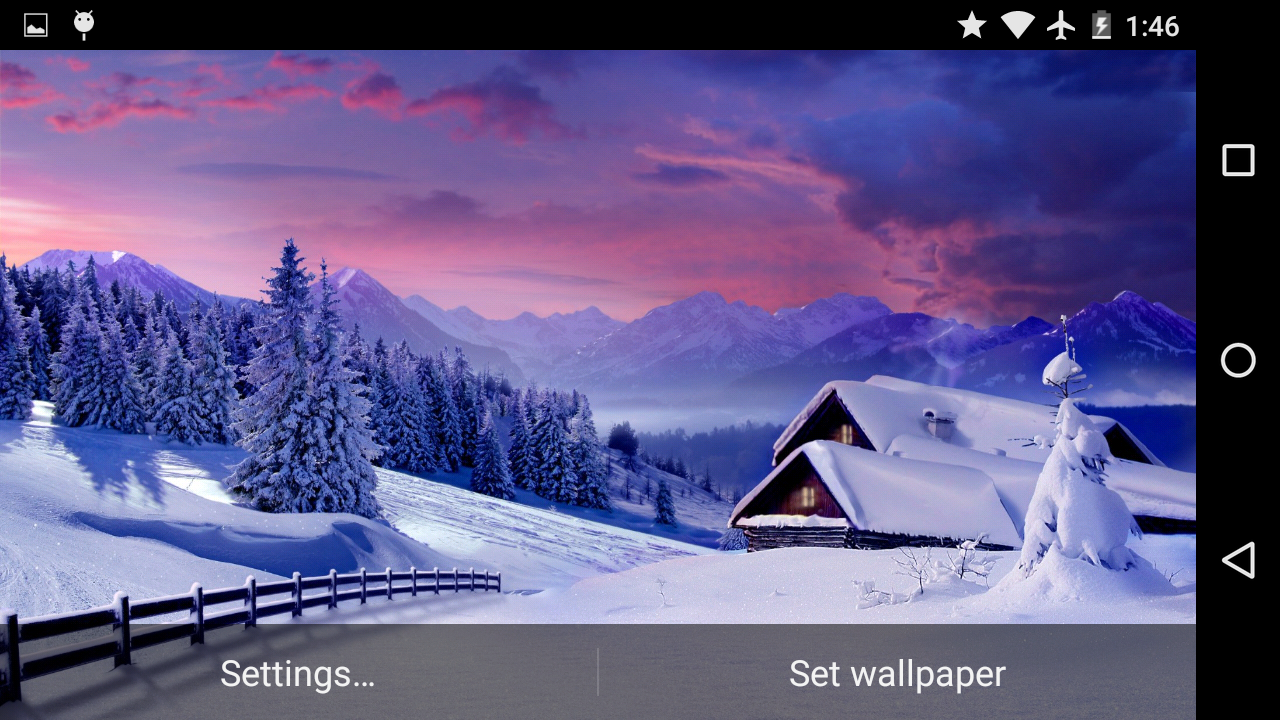 magic winter live wallpaper android apps on google play