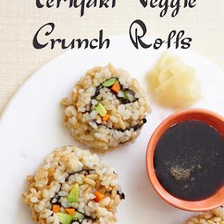 Teriyaki Veggie Crunch Roll