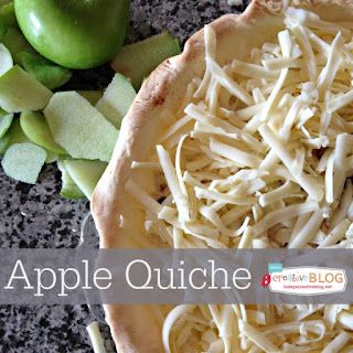 Apple Quiche