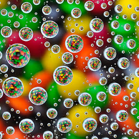 Colorfull Drops by Petrus Arif - Abstract Water Drops & Splashes