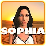 Sophia Artificial Intelligence Icon