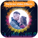 Particles Video Status Maker - Musical Wave Beats icon